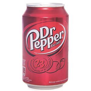 Dr Pepper 24 x 33 cl Dose