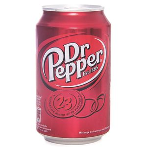 Dr Pepper 24 x 33 cl Dose