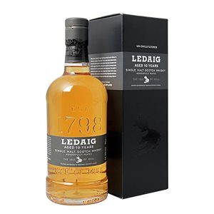 Whisky Ledaig Isle of Mull 10 years Single Malt 46,3% Vol. 70 cl Scotland