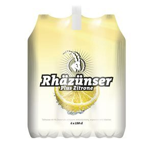 Rhäzünser Plus Zitrone 6 x 150cl PET