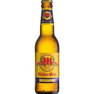 Müllerbräu alkoholfrei 24 x 33 cl MW Flasche