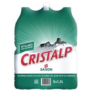 Cristalp mit Kohlensäure 6 x 150 cl PET