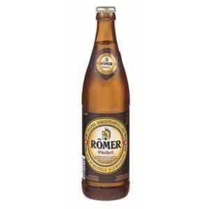 Römer Bier Edelhell Ramseier 4,8% Vol. 20 x 50 cl MW Flasche