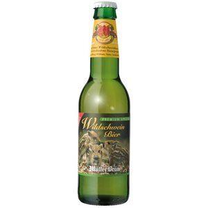 Müllerbräu Wildschweinbier Premium Spezial 5,2% Vol. 6 x 33 cl EW Flasche