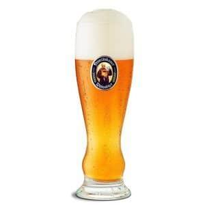 Franziskaner 6 Biergläser mit je 5 dl