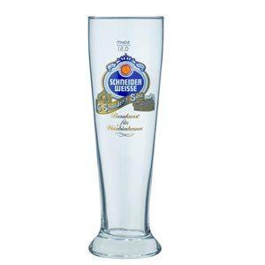 Schneider Weisse 6 Biergläser mit je 5 dl