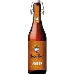 Unser Bier Amber 5% Vol. 6 x 50 cl MW Bügelflasche