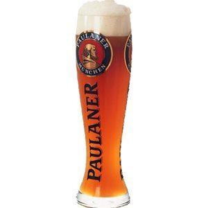 Paulaner 6 Biergläser mit je 5 dl