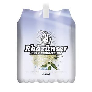 Rhäzünser Plus Holunderblüte 6 x 150 cl PET