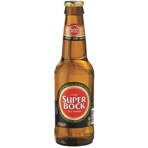 Super Bock Lager 5,4% Vol. Portugal 6 x 33 cl EW Flaschen