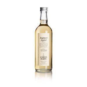 Ingwer-Apfel Sirup 70 cl Le Sirupier de Berne