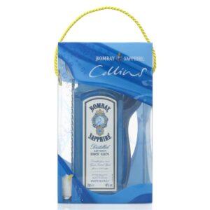 Gin Bombay Sapphire in Tom Collins Box 40% Vol 70 cl