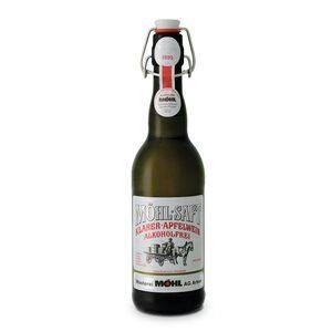 Möhl Saft klar alkoholfrei 15 x 50 cl MW Bügelflasche