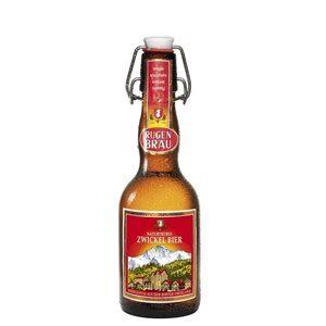 Rugenbräu Zwickel Bier 4,8% Vol. 20 x 33 cl Bügelflasche