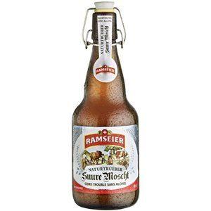 Ramseier Naturtrüber Apfelwein alkoholfrei 12 x 49 cl MW Bügelflasche