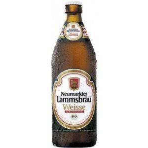 Neumarkter Lammsbräu Weissbier alkoholfrei 10 x 50 cl MW Flasche