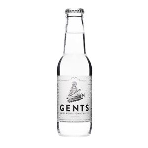 Gents Swiss Roots Tonic Water 24 x 20 cl EW Flasche