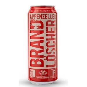 Appenzeller Brandlöscher Bier 4,8% Vol. 24 x 50 cl Dose