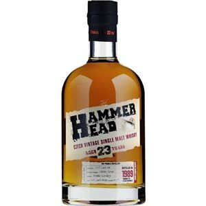Hammer Head 23 Years old Single Malt 40,7% 70 cl Tschechische Republik