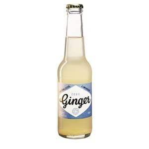 Zobo Ginger Bio Ingwer-Limetten-Limonade 20 x 27,5 cl EW Glas