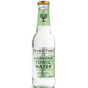 Fever Tree Elderflower / Holunderblüte Tonic 24 x 20cl EW Flasche