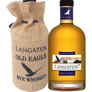 Langatun Old Eagle Rye Single Cask Whisky Swiss Premium 44% Vol. 50 cl