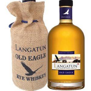 Langatun Old Eagle Rye Single Cask Whisky Swiss Premium 44% Vol. 50 cl