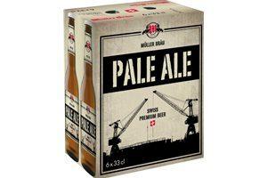 Müllerbräu Pale Ale Swiss Premium Beer 5,9% Vol. 6 x 33 cl EW Flasche