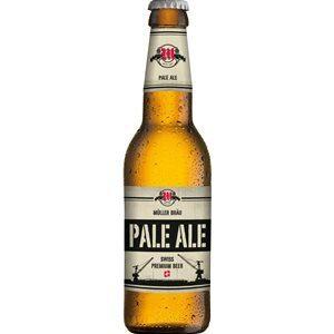 Müllerbräu Pale Ale Swiss Premium Beer 5,9% Vol. 24 x 33 cl MW Flasche
