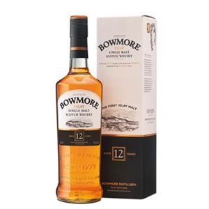 Whisky Bowmore Single Malt Islay 12 years old 40% Vol. 70 cl