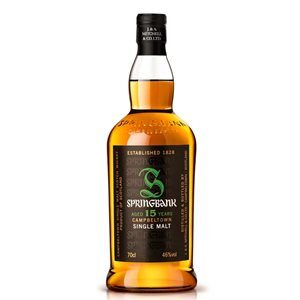 Springbank 15 years Scotch Single Malt 46% Vol. 70 cl