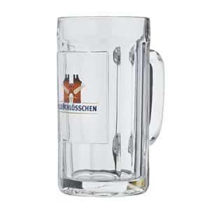 Feldschlösschen 6 Bierhumpen mit je 1 Liter