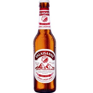 Valaisanne Lager Bier 4,8% Vol. 6 x 33 cl MW Flasche