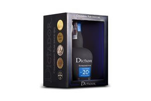 Rum Dictador 20 years 40% Vol. 70 cl Kolumbien