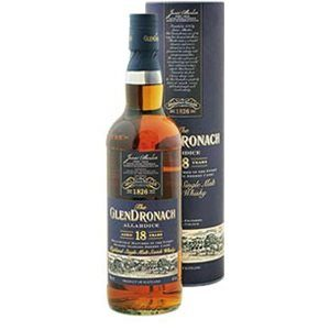 Glendronach 18 years Single Malt Allardice Oloroso Sherry Cask 46% Vol. 70 cl