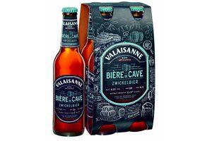 Valaisanne Zwickelbier Bière de Cave 5,2% Vol. 4 x 33 cl EW Flasche