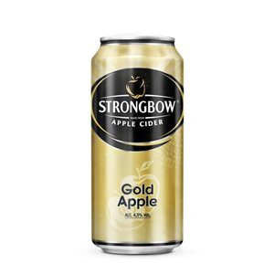 Strongbow Gold Apple Cider 4,5% Vol. 24 x 40 cl Dose
