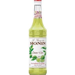 Citron Vert Zitrone grün Monin Premium Sirup alkoholfrei 70 cl