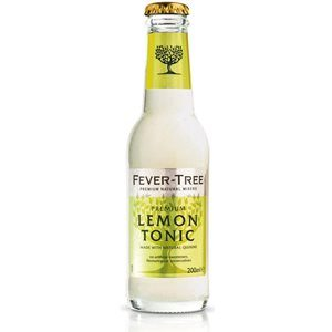 Fever Tree Sicilian Bitter Lemon Tonic Water 24 x 20cl EW Flasche