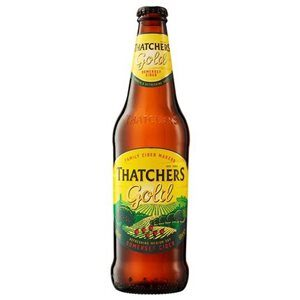 Thatchers Gold Cider 5% Vol. 12 x 50 cl EW Flasche