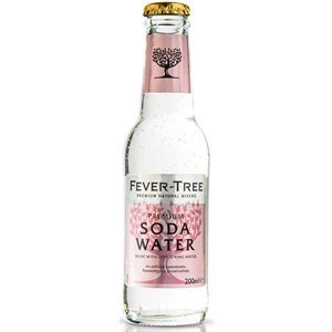 Fever Tree Soda Water 24 x 20cl EW Flasche