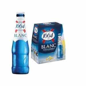 Kronenbourg 1664 blanc 24 x 25 cl EW Flasche Frankreich
