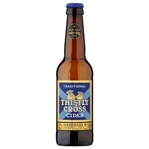 Thistly Cross Cider Traditional 4.4% Vol. 12 x 33 cl EW Flasche
