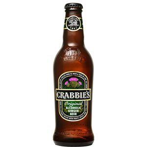 Crabbie's Alcoholic Ginger Beer glutenfrei 4.0% Vol. 24 x 33 cl EW Flasche Scotland