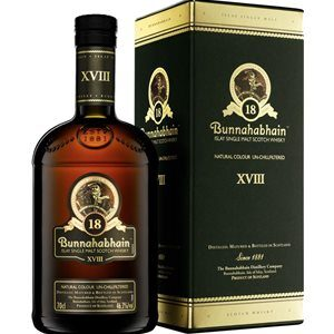 Bunnahabhain 18 years old Single Malt 46,3% Vol. 70 cl