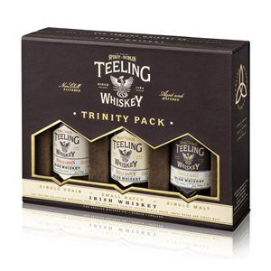 Whisky Teeling Trinity Pack 46% Vol. 3 x 5 cl Single Malt / Single Grain / Small Batch