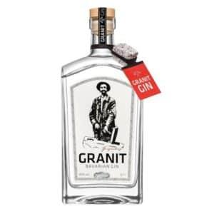 Gin Granit Bavarian 42% Vol. 70 cl Deutschland ( World's best traditional style Gin 2016 )