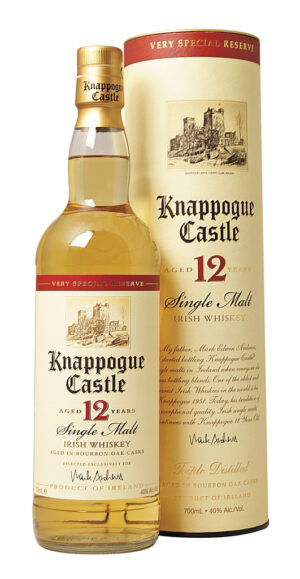 Whiskey Knappogue 12 Years Castle Irish Single Malt 40% Vol. 70 cl