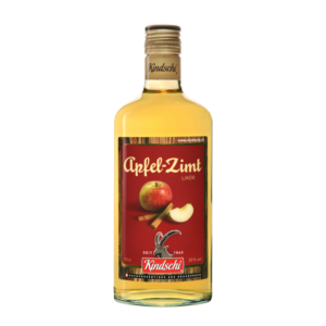 Kindschi Apfel - Zimt Likör 20% Vol. 70 cl