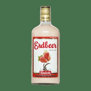 Kindschi Bündner Erdbeer Rahm - Likör 17% Vol. 70 cl